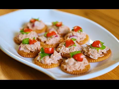 Quick Bites- Biscuit Canapes