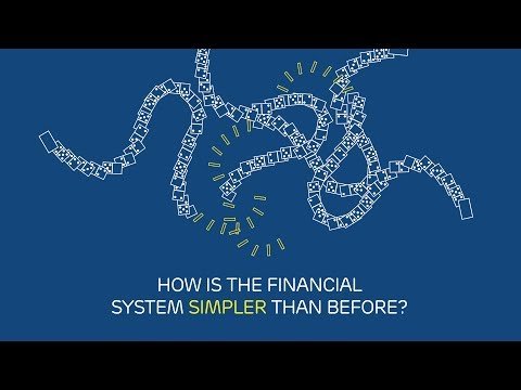 How is the global financial system simpler than before?