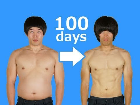 Hard 100days (100日間のダイエット動画)