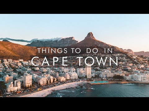 Things To Do In CAPE TOWN, SOUTH AFRICA   UNILAD Adventure