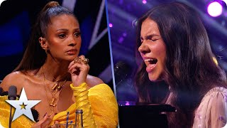 Download Lagu Sirine Jahangir's memorable version of 'Carry You' has us all crying   Semi-Finals   BGT 2020 mp3