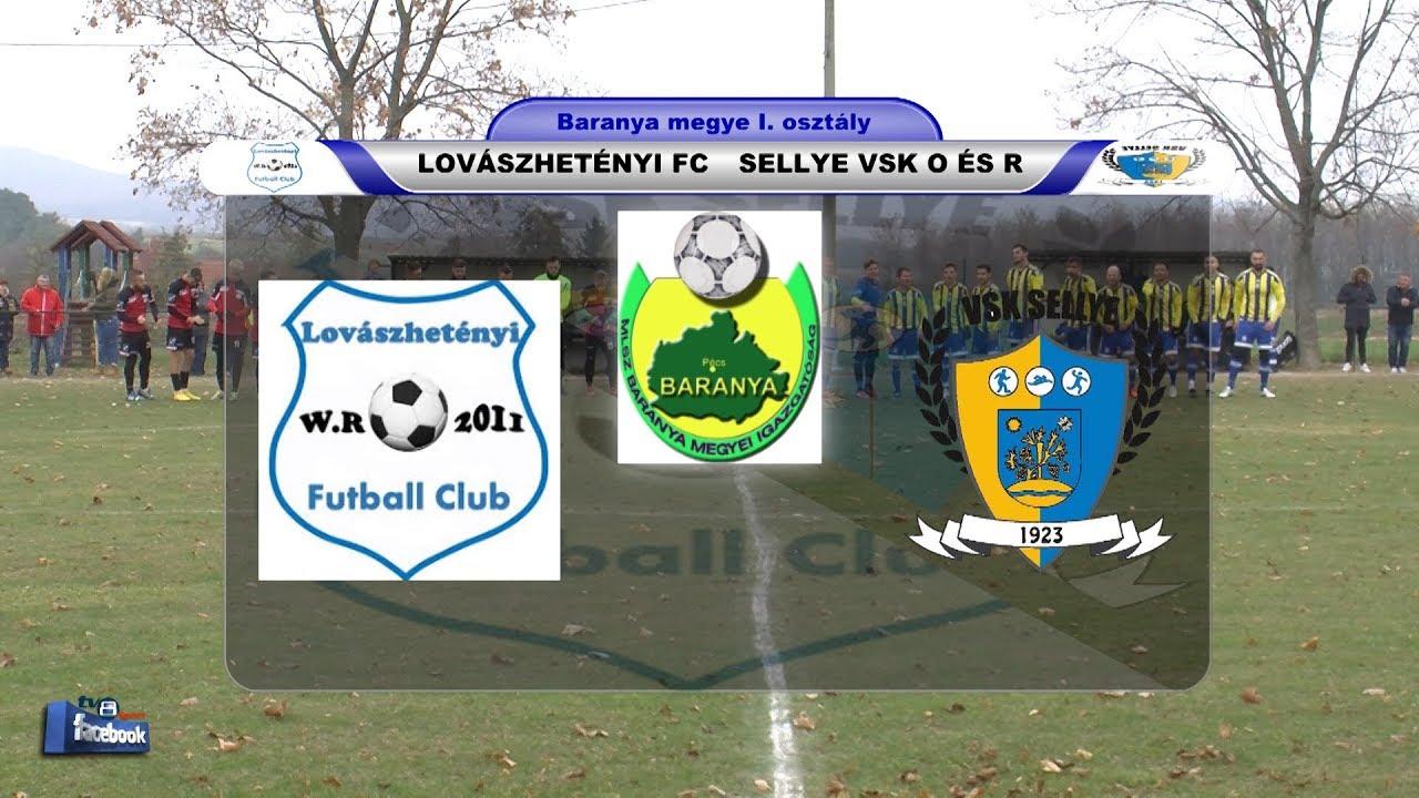 LOVÁSZHETÉNYI FC - SELLYE VSK O ÉS R   0 - 2 (0 - 2)