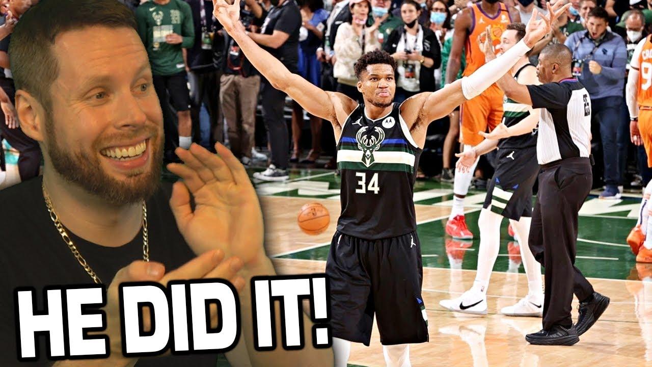 BUCKS WIN! GIANNIS is FINALS MVP! NBA Finals GAME 6
