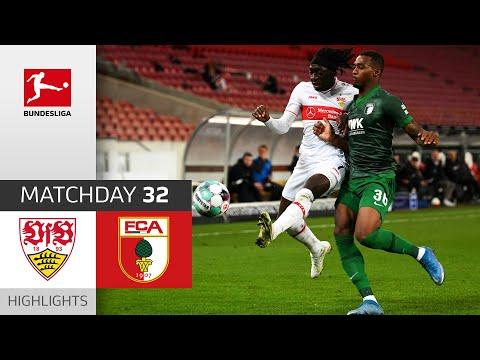 VfB Stuttgart - FC Augsburg | 2-1 | Highlights | Matchday 32 – Bundesliga 2020/21
