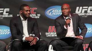 Anderson Silva on Fighting GSP or Jon Jones, and Who He Says Are the Two Best Fighters