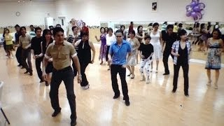 Filipino Reggae Line Dance  ( Yesterday Once More) Toronto
