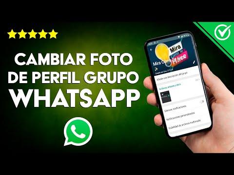 Cómo Cambiar la Foto o Imagen o el Perfil de un Grupo de WhatsApp Fácilmente