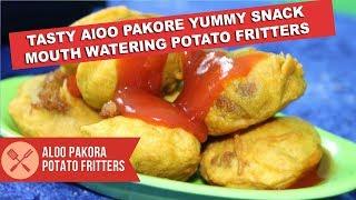 Aloo pakora recipe | Potato Vada | Aloo ke pakore | potato fritters