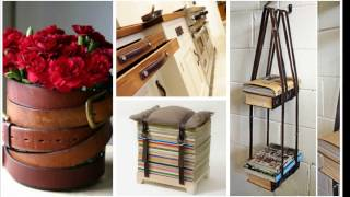 7 Ways to Reuse or Recycle old Belts | Learning Process