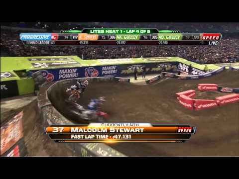 AMA SX 2012 US Lites Rd12 Toronto Heat1 (HD)