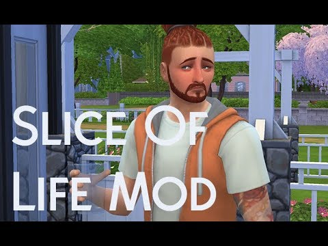 SIMS 4 REVIEW: Slice Of Life Mod!