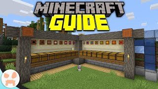 Easy Auto Sorter Systems! | Minecraft Guide Episode 28 (Minecraft 1.15.2 Lets Play)