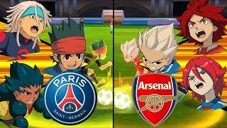 Inazuma Eleven UCL ~ Paris Saint-Germain vs Arsenal ※Pokemon Anchor※