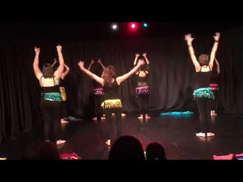 Part1 Chammak Chalo Song  Bellywood Style  Movie Ra-one Belfast Zumba Bollywood Colourful Dance
