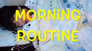 【Morning Routine】やはり変人!?朝のルーティンはマッサージとダンス