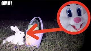 I FOUND THE EASTER BUNNY IN REAL LIFE! *It Disappeared*