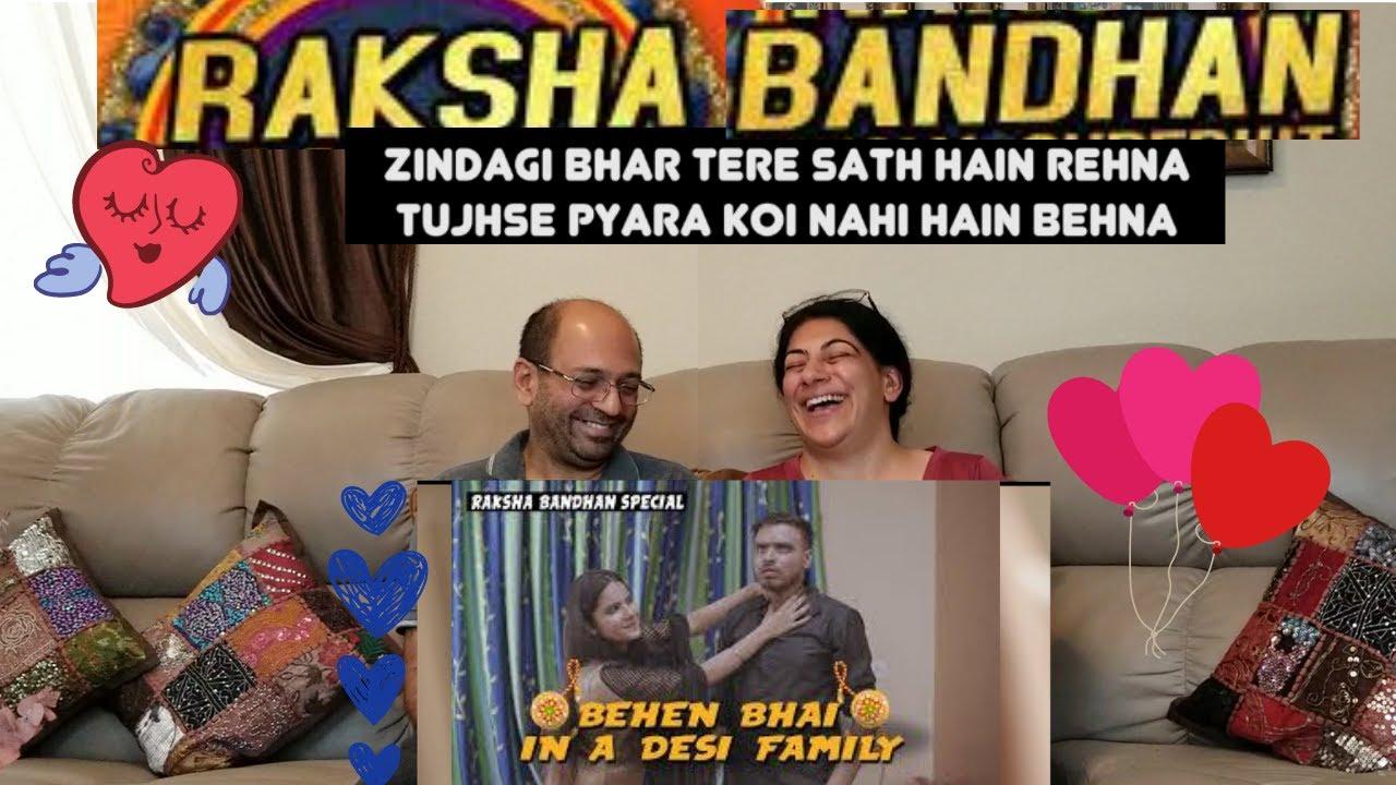 Behan Bhai In A Desi Family | Raksha Bandhan Special | Amit Bhadana | Happy Rakhi | REACTION!!