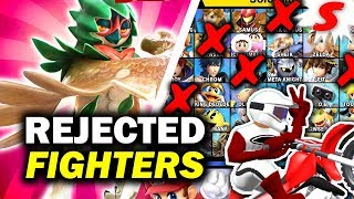10 REJECTED Characters That Should Be In Super Smash Bros Ultimate [Siiroth]