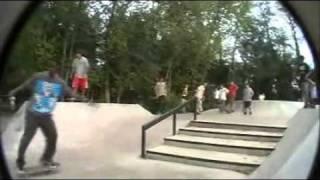 second day at new skate park of herndon (treflip lateflip)