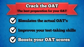Crack the OAT - Optometry Admission Test
