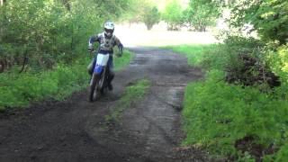 YAMAHA YZ 250 2 stroke ripping
