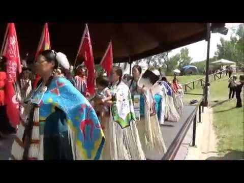 Indian Village Pow Wow Grand Entry - Calgary Stampede