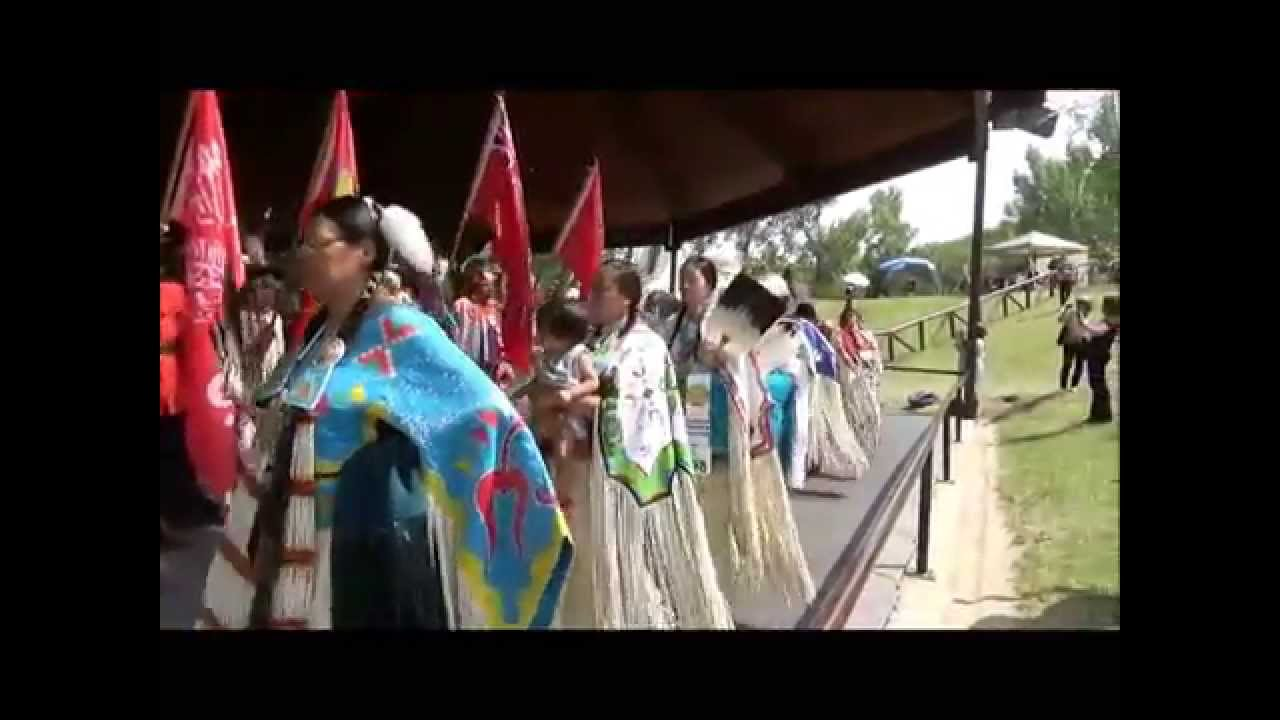 Indian Village Pow Wow Grand Entry Calgary Stampede