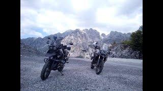 8 Länder Motorradreise Juli  2016 Teil 4/6 Kroatien-Montenegro-Albanien