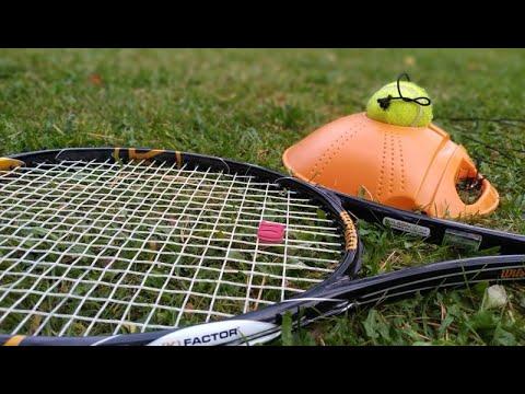 Большой теннис | Тренажер для игры в большой теннис на даче | Чемпион Берлина