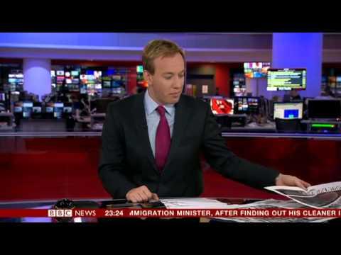 BBC News Channel Problems (8th Feb 2014 - 9th Feb 2014)