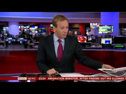 BBC News Channel Problems (8th Feb 2014 - 9th Feb 2014)