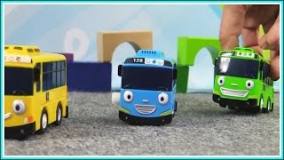 Tayo Little Bus & Gay Friends Rescue Truck Man! ⭐︎ Brio Car Toys Trains & Railway 타요 도로놀이 장난감