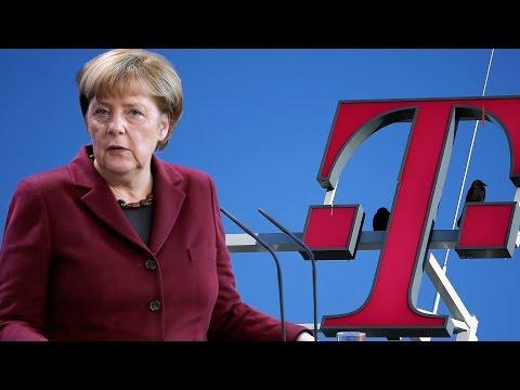 Angela Merkel: Angriffe wie offenbar bei der Telekom gehören heute zum Alltag