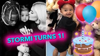 Kylie Jenner Celebrates Daughter Stormi's First Birthday!
