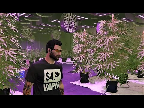 Ep154 OUR MC WEED FARM! FULL SETUP & ALL UPGRADES WALKTHROUGH! - Let's Play GTA 5 Online PC 60fps HD