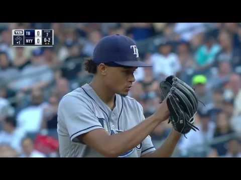 September 10, 2016-Tampa Bay Rays vs. New York Yankees