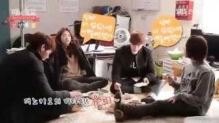 150106 SBS Pinocchio Making LeeJongSuk ParkShinHye LeeYuBi KimYoungKwang