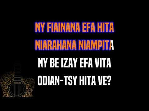 Henri Ratsimbazafy - Odian-tsy hita ve ! (KARAOKÉ)
