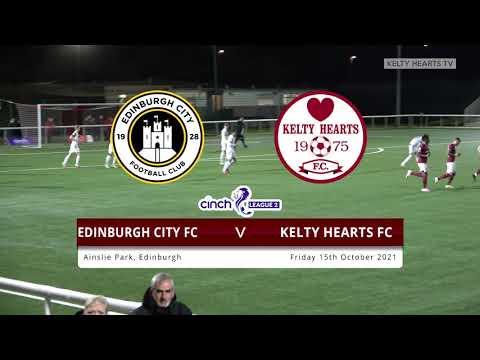 Edinburgh City Kelty Hearts Goals And Highlights