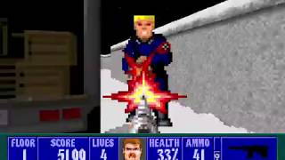 [WOLF3D] | Gameplay Wolfenstein 3D The Lost Missions [PART1]