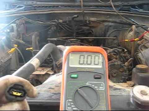 How-to diagnose a P0320 (crankshaft position sensor circuit failure