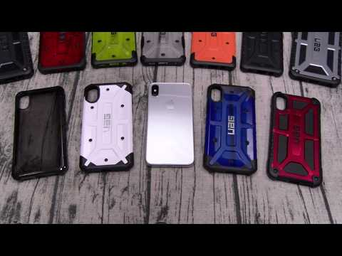 iPhone X UAG Case Lineup