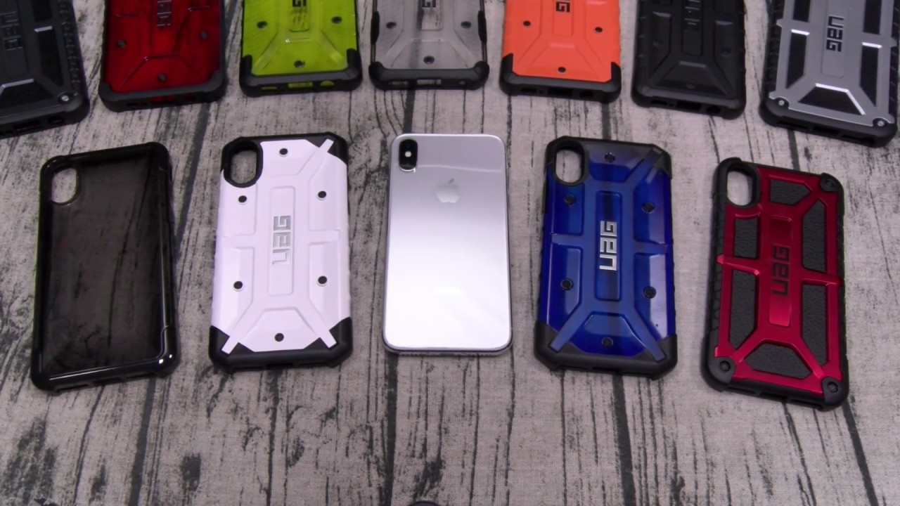 Carbon Fiber Iphone Case >> iPhone X UAG Case Lineup - YouTube