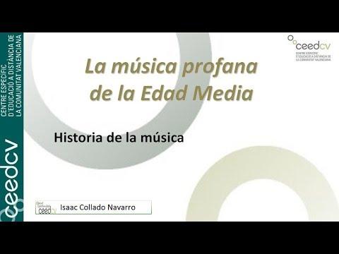 Características de la música profana de la Edad Media