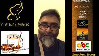 Rhythms of Love Event_ Video Promo Singer & Actor MJ Sriram