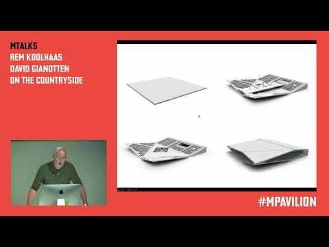 MTalks—Rem Koolhaas and David Gianotten on the countryside