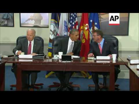 Obama Meets With National Security Council
