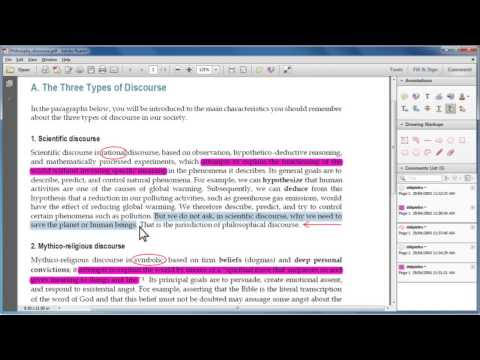 [2.1.1] Marking up and annotating digital documents