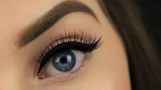 How To: Apply False Eyelashes for Beginners (Two Techniques!)