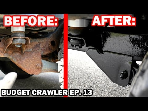 Rusty FRAME RESTORATION on a JEEP WRANGLER | Budget Crawler Ep. 13